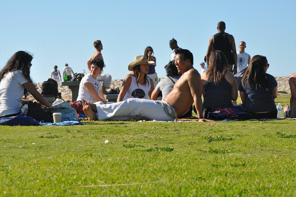 Capoeira Brasil San Diego Beach Day