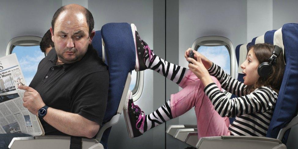 kicking-seat