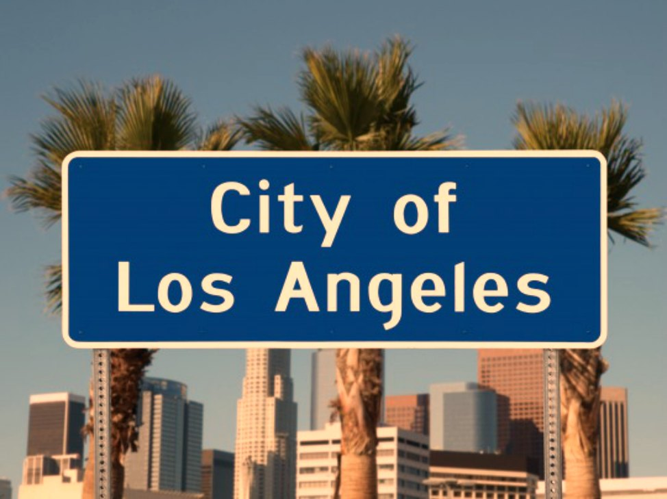 Post_Los-Angeles_City-Sign