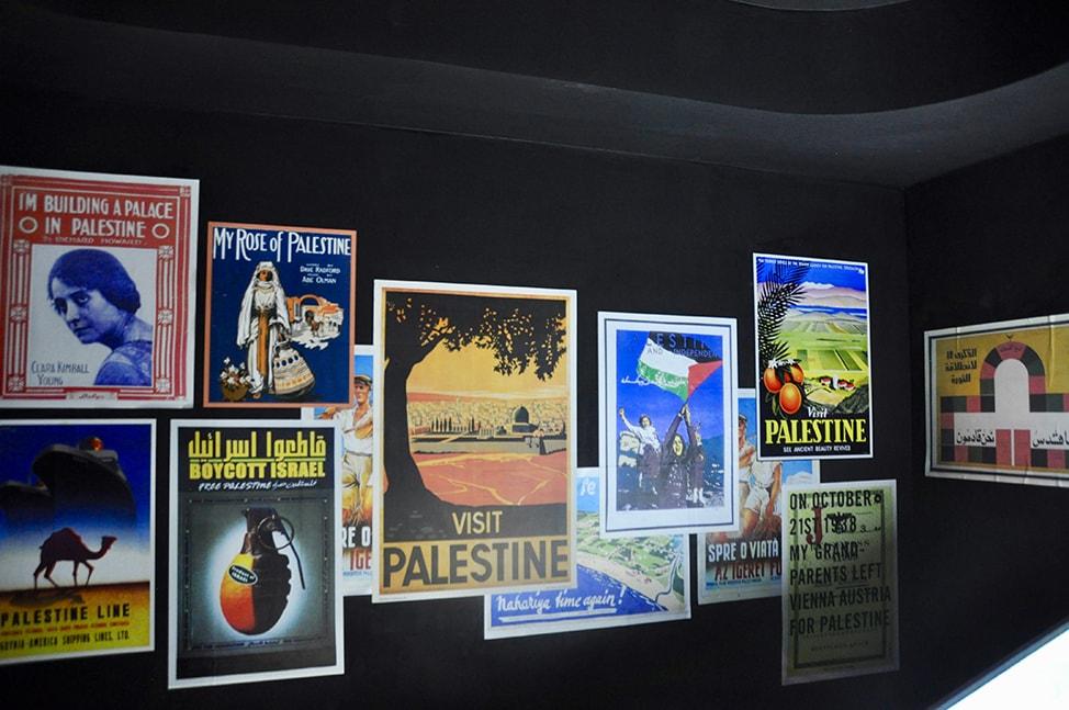 Palestine tourism posters