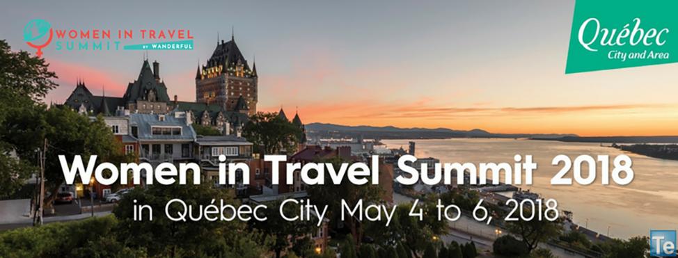 Women In Travel Summit will be in Québec City in 2018
